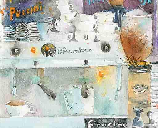 Fracino Coffee Maker at Homemade Cafe/Deli