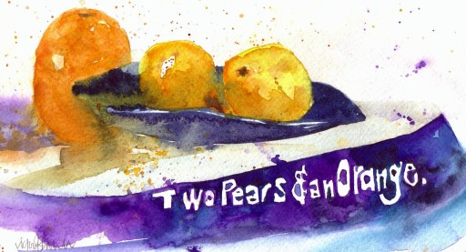 Two Pears & an Orange