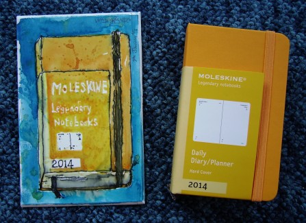 Moleskine 2014 Diary