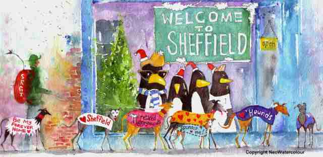 Sheffield Retired Greyhounds - Sharrow Vale Road